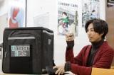アルバイト後の蒼(桐山)=ドラマ『青きヴァンパイアの悩み』第2話(2月15日放送)(C)TOKYO MX