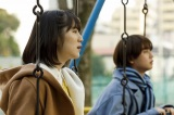 公園での花(蒼波)と葵(ゆうたろう)=ドラマ『青きヴァンパイアの悩み』第2話(2月15日放送)(C)TOKYO MX