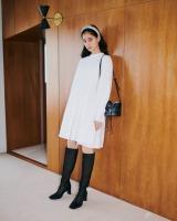 「SNIDEL」2021年春コレクションをまとった新木優子