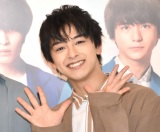 『TEAM HANDSOME!×SHIBUYA109 Valentine Campaign』に来場した新原泰佑 (C)ORICON NewS inc.