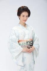 連続テレビ小説『おちょやん』高峰ルリ子役の明日海りお(C)NHK