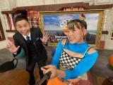 Eテレの『世界にいいね!つぶやき英語』2月11日放送回にフワちゃんがゲスト出演。MCの太田光との絡みは「最高」!? (C)NHK