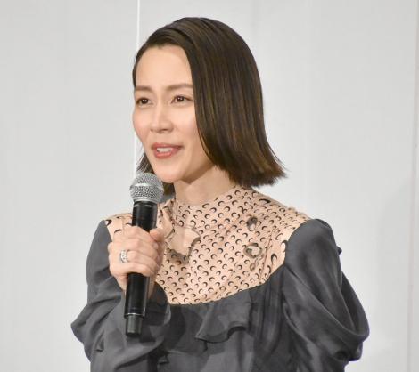 映画『ファーストラヴ』初日舞台あいさつに登壇した木村佳乃 (C)ORICON NewS inc.