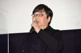 映画『すばらしき世界』公開初日舞台あいさつに登壇した六角精児