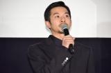 映画『すばらしき世界』公開初日舞台あいさつに登壇した仲野太賀