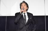映画『すばらしき世界』公開初日舞台あいさつに登壇した役所広司