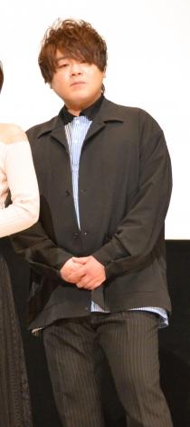 劇場版『美少女戦士セーラームーンEternal』《後編》公開記念舞台あいさつに登壇した松岡禎丞 (C)ORICON NewS inc.