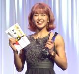 K-1 JAPAN GROUP年間表彰式『K-1 AWARDS 2020』に出席した菅原美優 (C)ORICON NewS inc.