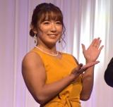 K-1 JAPAN GROUP年間表彰式『K-1 AWARDS 2020』に出席した才木玲佳 (C)ORICON NewS inc.