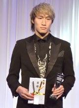 K-1 JAPAN GROUP年間表彰式『K-1 AWARDS 2020』に出席した安保瑠輝也 (C)ORICON NewS inc.