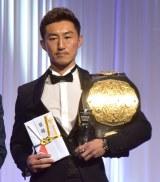 K-1 JAPAN GROUP年間表彰式『K-1 AWARDS 2020』に出席した山崎秀晃 (C)ORICON NewS inc.