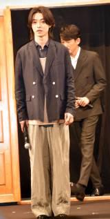 『夏への扉 −キミのいる未来へ−』完成報告会イベントに出席した山崎賢人 (C)ORICON NewS inc.