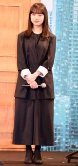 『夏への扉 −キミのいる未来へ−』完成報告会イベントに出席した清原果耶 (C)ORICON NewS inc.