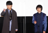 『銀魂 THE FINAL』舞台あいさつに登壇した(左から)杉田智和、阪口大助 (C)ORICON NewS inc.
