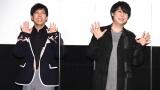 『銀魂 THE FINAL』舞台あいさつに登壇した(左から)太田哲治、鈴村健一(C)ORICON NewS inc.