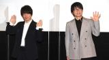 『銀魂 THE FINAL』舞台あいさつに登壇した(左から)中井和哉、千葉進歩 (C)ORICON NewS inc.