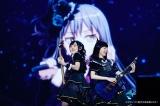 「オダイバ!!超次元音楽祭 ヨコハマからハッピーバレンタインフェス2021」に出演したRoselia