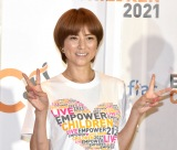 『LIVE EMPOWER CHILDREN 2021 supported by Aflac』の囲み取材に出席したhitomi (C)ORICON NewS inc.