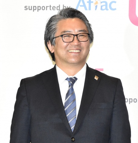 『LIVE EMPOWER CHILDREN 2021 supported by Aflac』の囲み取材に出席した広津崇亮代表理事 (C)ORICON NewS inc.