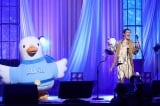 『LIVE EMPOWER CHILDREN 2021 supported by Aflac』に出演したピコ太郎