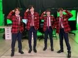 『なにわからAぇ! 風吹かせます!』に出演するなにわ男子(左から)藤原丈一郎道枝駿佑、大西流星、長尾謙杜 (C)カンテレ