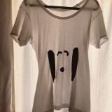 平野ノラが手作りしたスヌーピーTシャツ(写真はブログより)