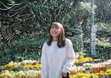『内田理央10周年企画スマホの中身展「半目と開眼」』展示写真