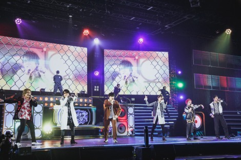 """『ヒプノシスマイク-Division Rap Battle- 6th LIVE』2nd Battleの模様=Photo by nishinaga """"saicho"""" isao /前田俊太郎/進藤景太"""