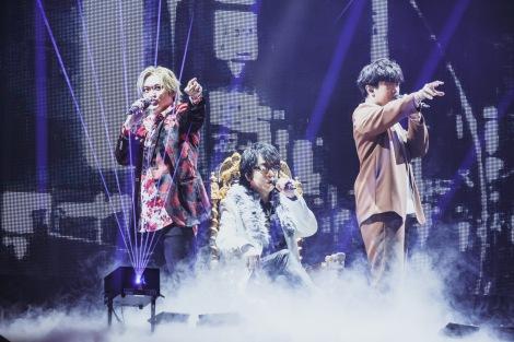 """麻天狼=『ヒプノシスマイク-Division Rap Battle- 6th LIVE』2nd Battleの模様=Photo by nishinaga """"saicho"""" isao /前田俊太郎/進藤景太"""