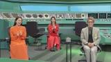 『未来王2030』に出演する(左から)平祐奈、ファーストサマーウイカ、田村淳(C)NHK