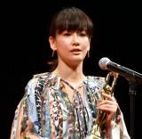 『喜劇 愛妻物語』の鬼嫁役で「女優主演賞」を受賞した水川あさみ (C)ORICON NewS inc.