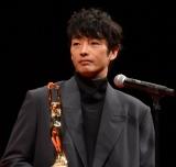 「男優主演賞」を受賞した森山未來=『第75回毎日映画コンクール』表彰式 (C)ORICON NewS inc.