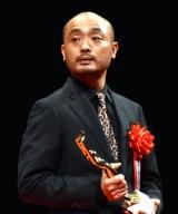 「男優助演賞」を受賞した宇野祥平=『第75回毎日映画コンクール』表彰式 (C)ORICON NewS inc.