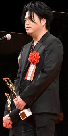「音楽賞」を受賞した渋谷慶一郎氏 =『第75回毎日映画コンクール』表彰式 (C)ORICON NewS inc.