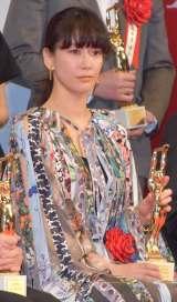 「女優主演賞」を受賞した水川あさみ=『第75回毎日映画コンクール』表彰式 (C)ORICON NewS inc.