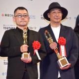 『第75回毎日映画コンクール』表彰式に出席した(左から)武正晴監督、大森立嗣監督 (C)ORICON NewS inc.