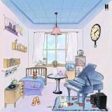 JINが「ARMYの部屋」に子犬とピアノをプレゼントして完成させた