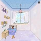1番手のSUGAが「ARMYの部屋」にベッドとインスタント写真を加えた