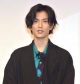 映画『ブレイブ -群青戦記-』の天下人に挑戦イベントに参加した渡邊圭祐 (C)ORICON NewS inc.