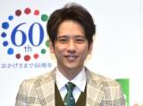 JCB『新TVCM発表会』に登場した嵐・二宮和也 (C)ORICON NewS inc.