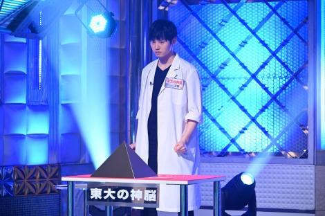 金曜ロードSHOW!『最強の頭脳日本一決定戦!頭脳王2021』に出場する河野玄斗 (C)日本テレビ