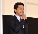 『ターコイズの空の下で』先行プレミアム上映の舞台あいさつに参加した柳楽優弥 (C)ORICON NewS inc.