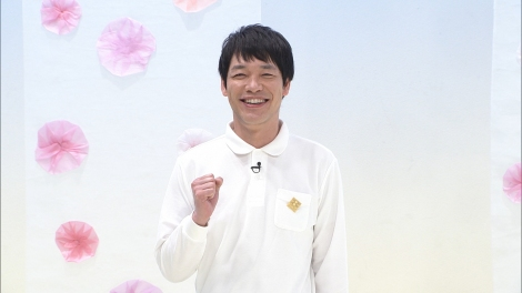 「ENGE HK みんなのダンスネタ」の進行を務めた川島明 (C)フジテレビ