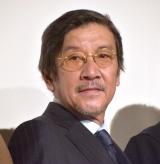 映画『痛くない死に方』初日舞台あいさつに登壇した奥田瑛二 (C)ORICON NewS inc.