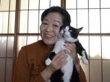岡田晴恵先生とラブラブ2ショット(C)BSテレ東