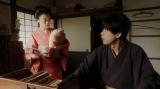 台本について話しをする千代(杉咲花)と一平(成田凌)=連続テレビ小説『おちょやん』第12週・第56回より (C)NHK