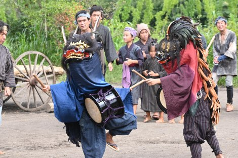 『青天を衝け』第2回「栄一、踊る」より(C)NHK