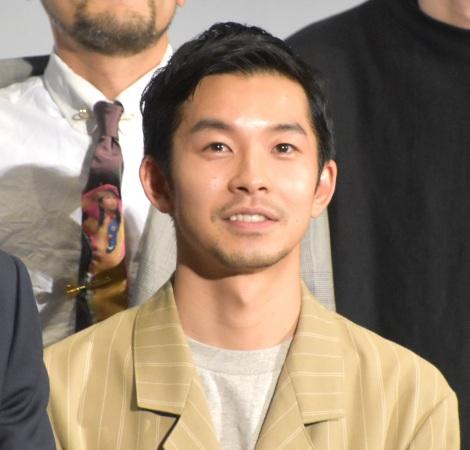 映画『あの頃。』公開記念舞台あいさつに登壇した仲野太賀 (C)ORICON NewS inc.