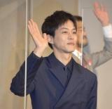 映画『あの頃。』公開記念舞台あいさつに登壇した松坂桃李 (C)ORICON NewS inc.