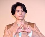 映画『ライアー×ライアー』公開記念舞台あいさつに登壇した松村北斗 (C)ORICON NewS inc.